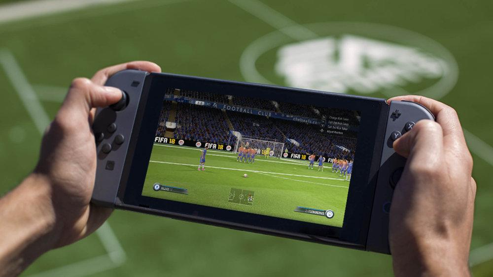 Nintendo Switch 版『FIFA 18』が国内販売2万本を突破