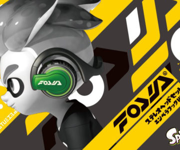 ヘッドホンとしても使える、『スプラトゥーン2』ブランド「フォーリマ」のギアが「ステレオヘッドセット」としてリアルに発売
