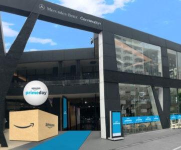 Amazon、六本木にポップアップストアをオープン。プライム特典の体験やPS4『グランツーリスモSPORT』試遊など
