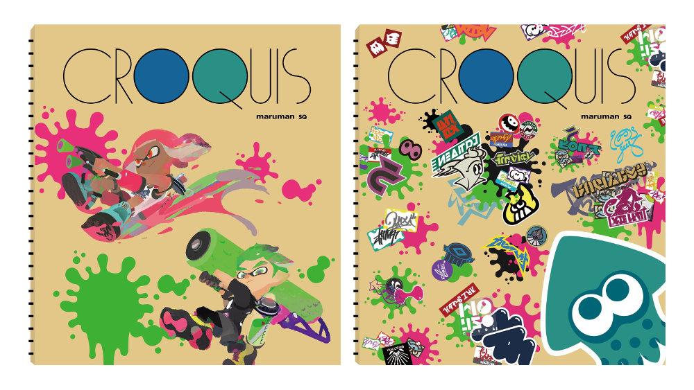 スプラトゥーン2:クロッキー帳やふせんセット、ジャッジくん・コジャッジくんクッションなど関連グッズが続々