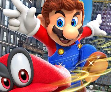 Nintendo Switch、サイバーマンデーも米オンライン売上1位。『スーパーマリオ オデッセイ』も好調