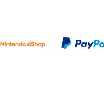 PayPal がニンテンドーeショップに対応、Nintendo Switch ソフトなどの購入や残高追加が可能に