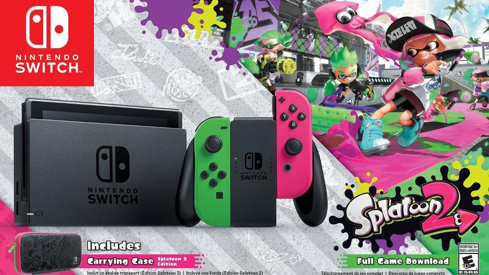 Nintendo Switch の北米販売、7月は『スプラトゥーン2』効果や出荷増で PS4 / Xbox One を上回る