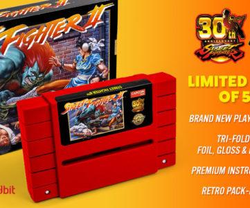 30周年記念、SNES版『ストリートファイター2』がカートリッジで復刻