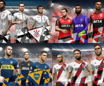 『ウイイレ2018』、ブラジル、アルゼンチン、チリの各国トップリーグを収録。搭載ライセンス紹介