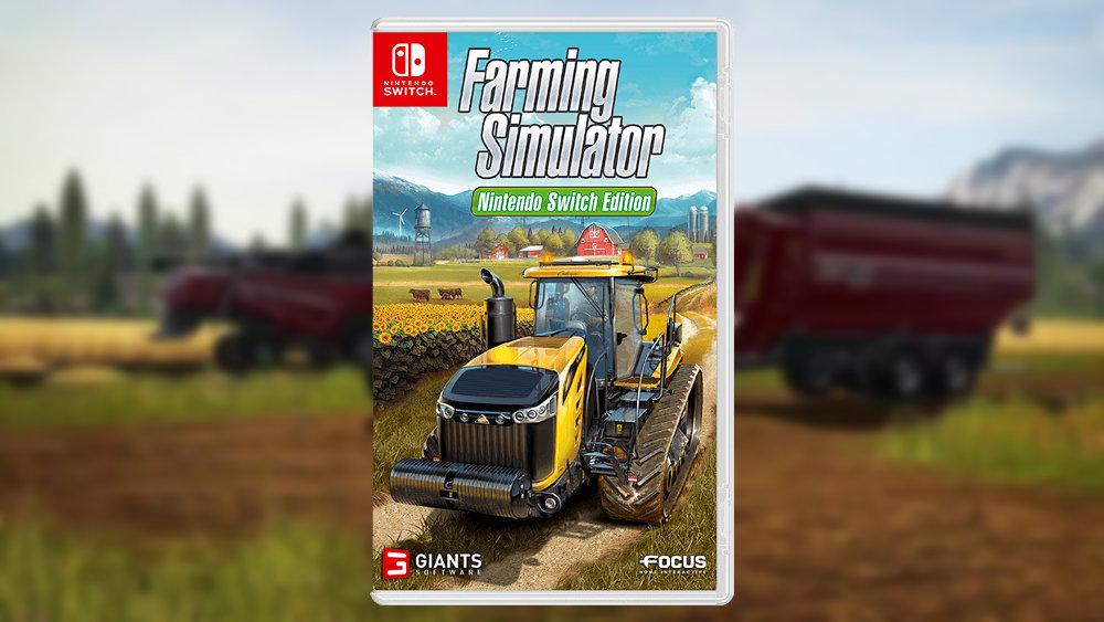 家でも外でも、農園シミュレーター『Farming Simulator』が Nintendo Switch に対応