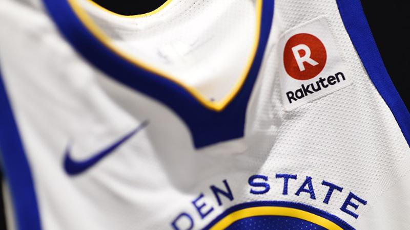 楽天、NBAの昨季王者「ゴールデンステート・ウォリアーズ」と複数年度契約。ユニの胸ロゴやECパートナーなど様々な分野で連携