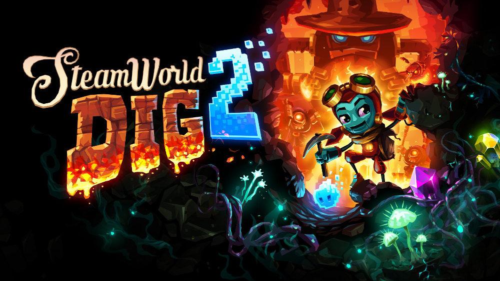 採掘アクション『SteamWorld Dig 2』売上、ナンバリング前作や『SteamWorld Heist』を上回る出足