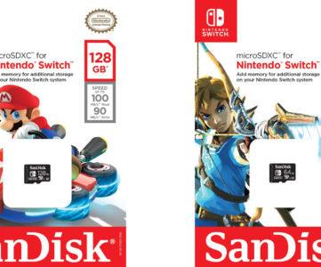 任天堂が北米でWD(ウエスタンデジタル)と提携、SandiskブランドからSwitch向けに公認microSDカードを発売