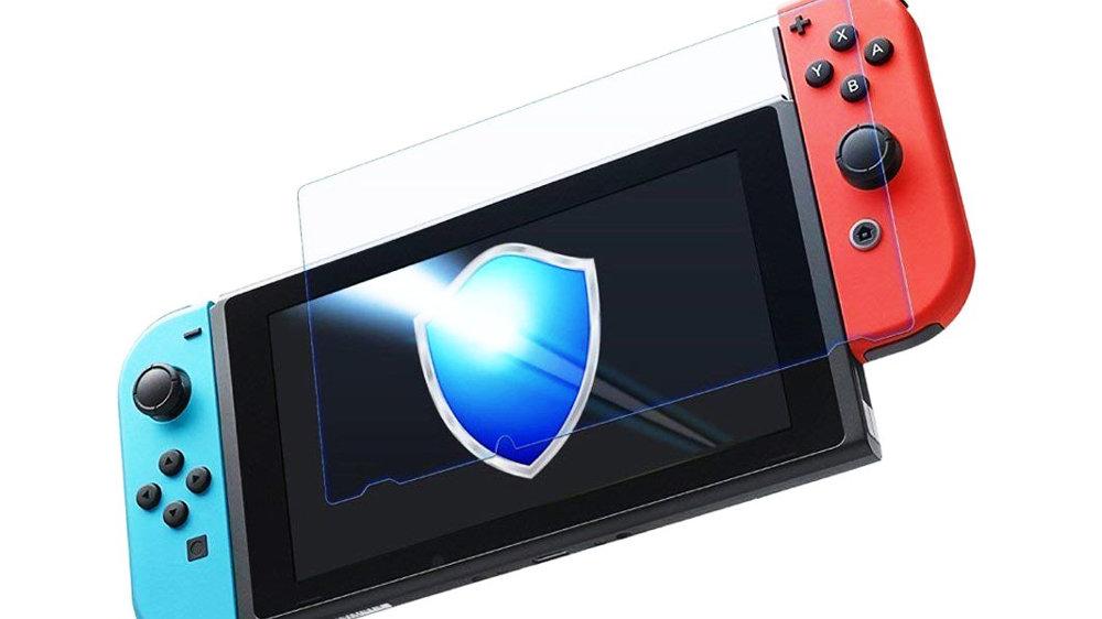 ニンテンドースイッチ液晶画面に保護フィルムは必要か不要か、つけていた方が安心して遊べる