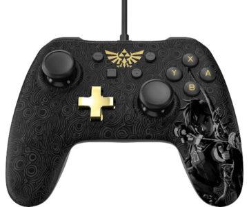 海外:任天堂公式ライセンス、『ゼルダの伝説 BotW』『マリオ』デザインのNintendo Switch 用コントローラー