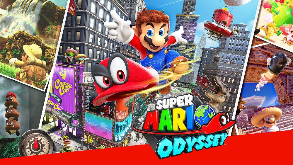 『スーパーマリオ オデッセイ』が907万本、『ゼノブレイド2』が106万本など、任天堂の2017年ミリオンセラーリスト