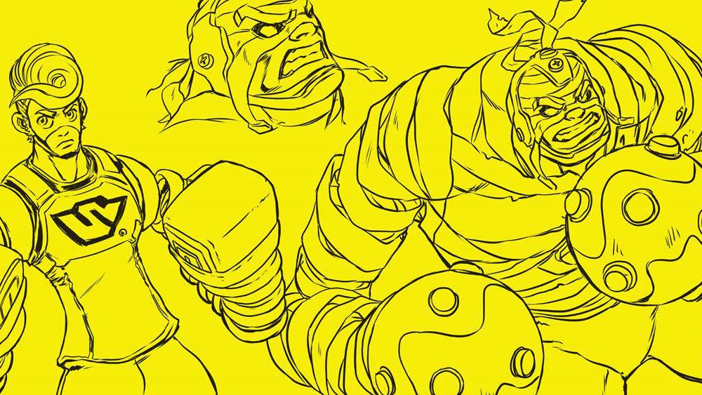 """任天堂の新規IP『ARMS』がアメコミの Dark Horse Comics から """"グラフィック・ノベル"""" シリーズ化"""