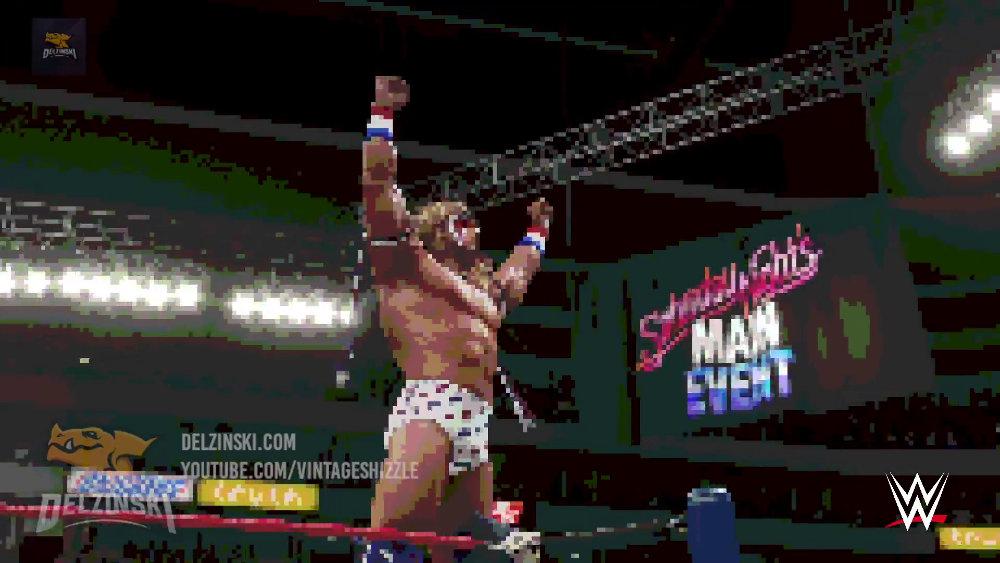 『WWE 2K18』、見た目を8ビット風に変えるなど様々な楽しいフィルターが搭載
