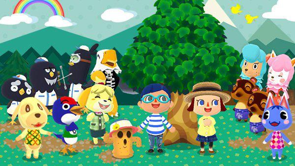 iOS / Android『どうぶつの森 ポケットキャンプ』は11月22日に配信開始、スマホでいつでもどこでも自由気ままなスローライフ