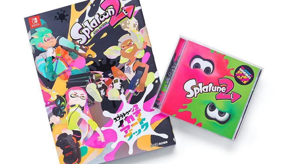 スプラトゥーン2:『イカすアートブック』やサントラ『Splatune 2』は、冬のスーパーなアップデート内容も収録の最旬バージョン