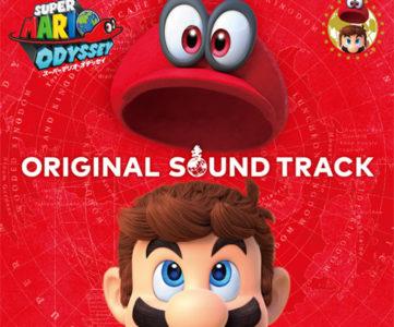 『スーパーマリオ オデッセイ』、主題歌「Jump up,Super Star!」を含むBGM全136曲完全収録の4枚組サウンドトラックが発売へ
