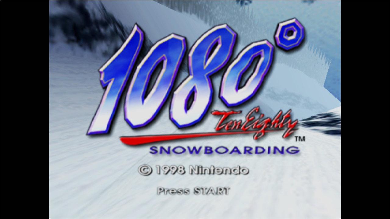 任天堂が『1080° Ten Eighty (テン・エイティ)』の商標登録出願