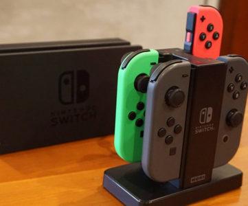 ホリ、『Joy-Con充電スタンド for Nintendo Switch』のファームウェアが更新、稀に充電できなくなる問題を修正