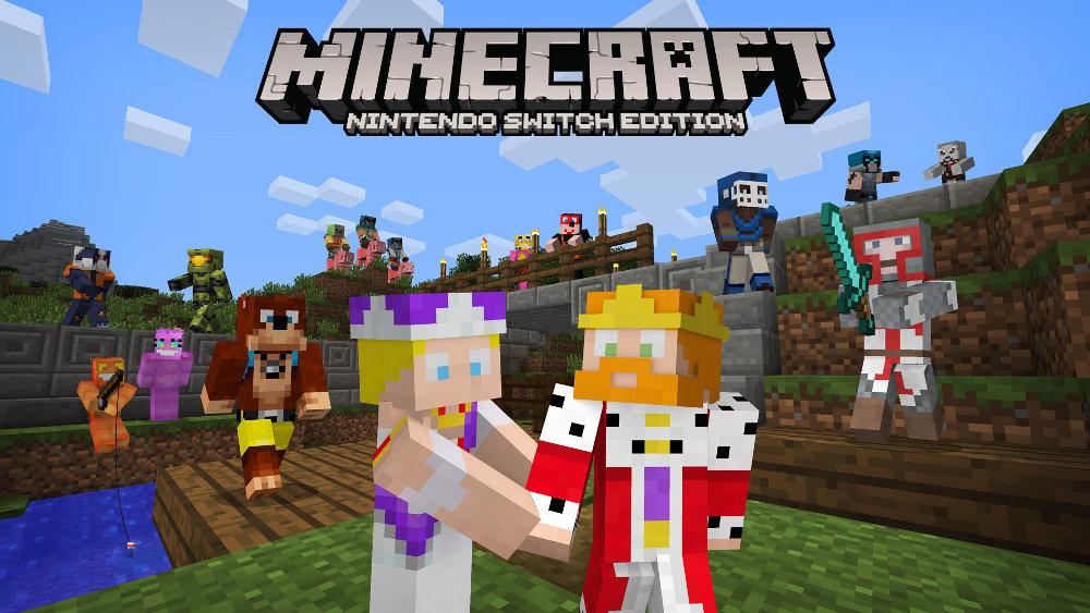 【マイクラ】『Minecraft: Nintendo Switch Edition』に新スキンパック2種、『バンジョー』『Halo』などMSキャラやディズニー映画から