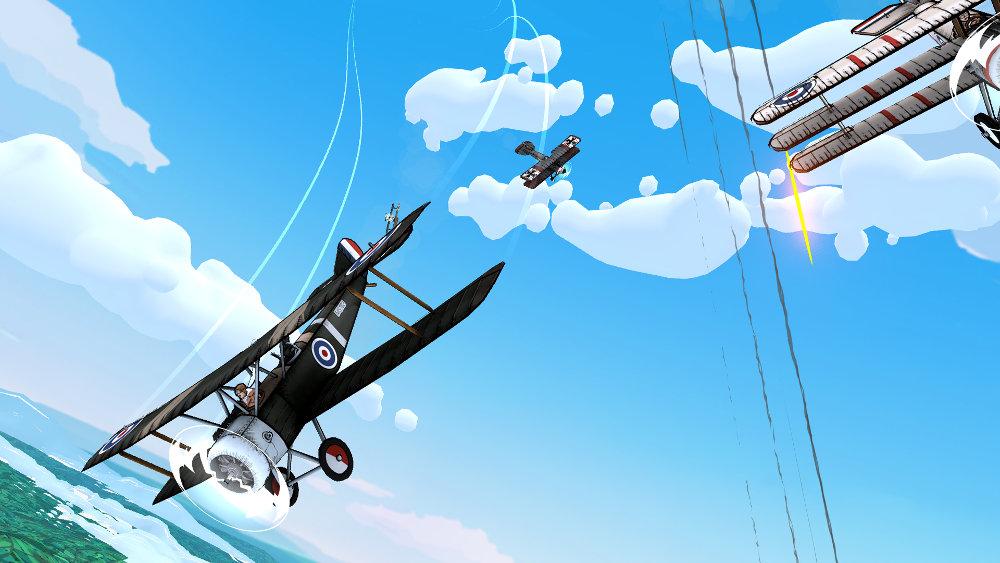 『Skies of Fury DX』が Nintendo Switch に対応、第一次世界大戦の「血の4月」を舞台とするフライトシューティング