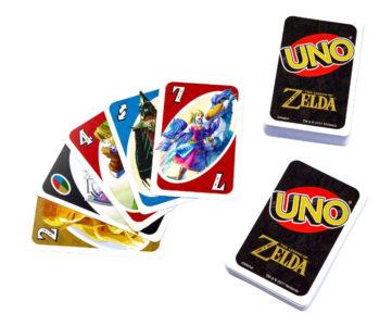 任天堂公認、『ゼルダの伝説』の UNO (ウノ) が北米で発売