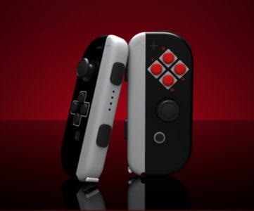 NintendoSwitch Joy-Con やプロコンを「NES」カラーに、塗装サービスの米 ColorWare から新製品