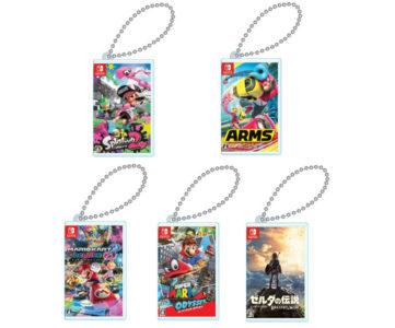 ゲームカードを実際に1枚収納可能、パッケージデザインがそのままミニチュアになった『Nintendo Switch専用カードポケットmini』
