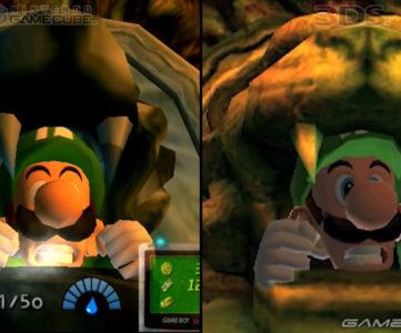 【ルイージマンション】どう変わった?ゲームキューブ版と3DS版のグラフィック比較映像