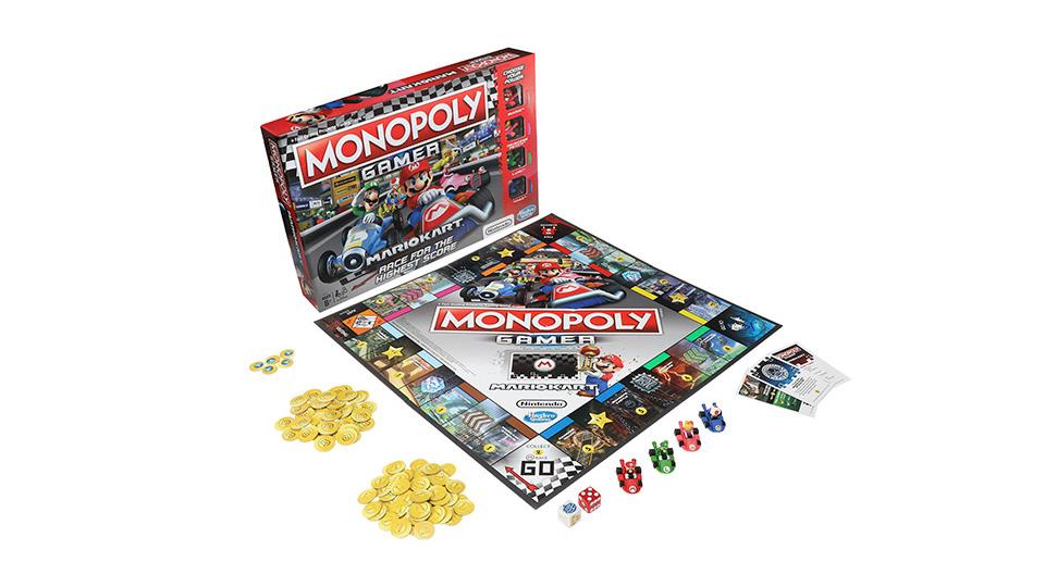 モノポリーにマリオカート要素をミックス、任天堂とハズブロがコラボした『MONOPOLY GAMER: MARIO KART Edition』