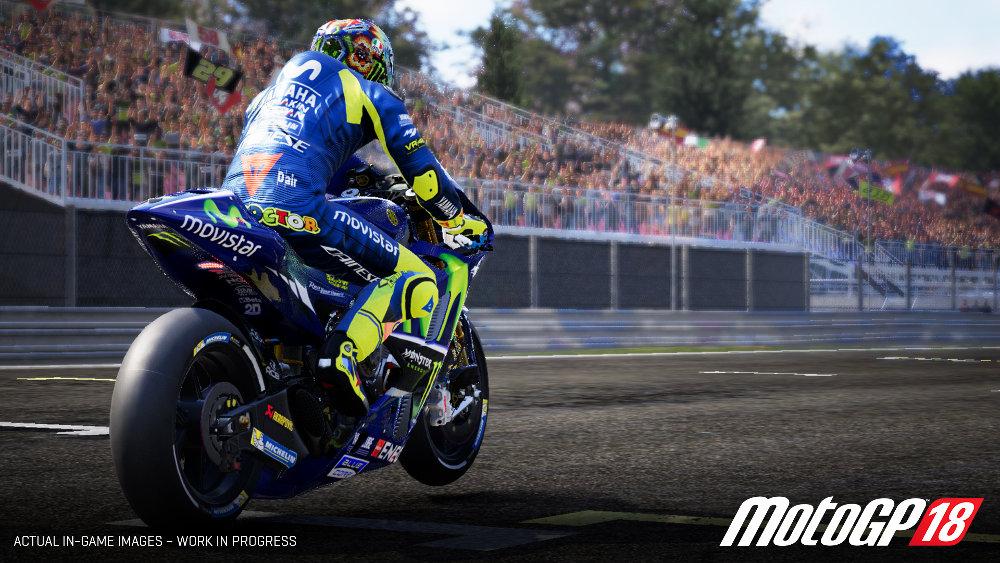 UE4採用で生まれ変わった『MotoGP 18』がニンテンドースイッチにも対応