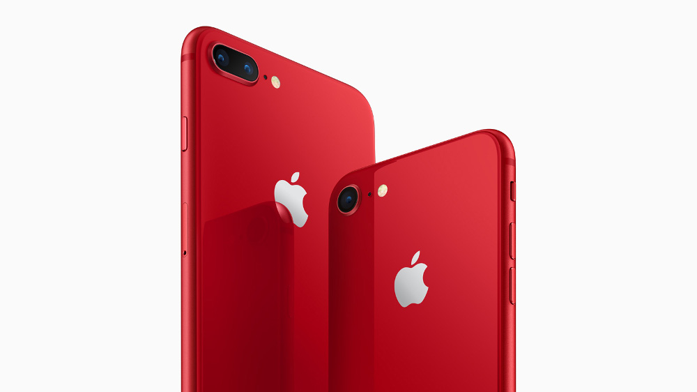 赤い iPhone 8 / 8 Plus、「(PRODUCT)RED Special Edition」が登場