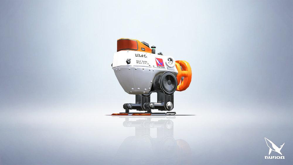 スプラトゥーン2:「ロボットボム」のモデルは「しんかい6500」だった、DLC「オクト・エキスパンション」にも深海を調査する姿で登場