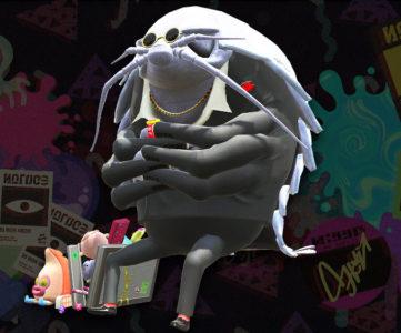 スプラトゥーン2:「オクト」登場キャラクター「グソクさん」、8号の記憶で練り上げられた「ネリメモリー」