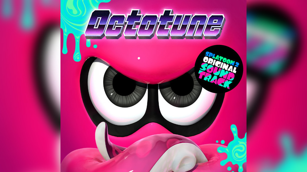 『スプラトゥーン2』の新作サントラ「Octotune」が7月に発売、DLC「オクト・エキスパンション」収録の追加楽曲などCD2枚組
