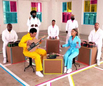 アリアナ・グランデ、『Nintendo Labo』による演奏で最新シングル「No Tears Left to Cry」を披露