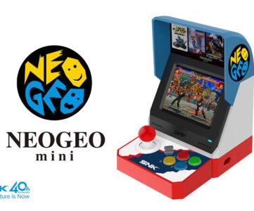 『NEOGEO mini』は7月24日発売、人気ソフト40本を収録してお値段1万1150円