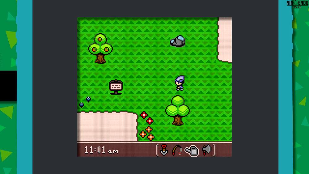 もしも『どうぶつの森』がゲームボーイカラーで発売されていたら?を表現するデメイク映像
