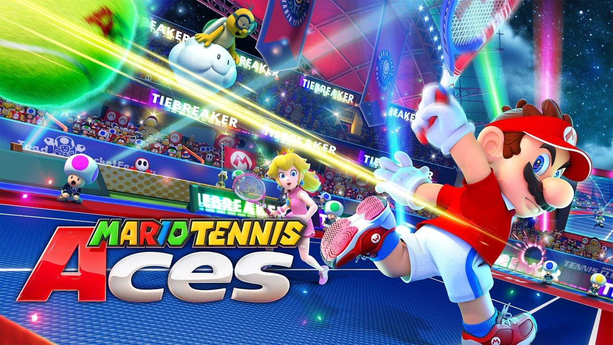『マリオテニス エース』は発売後にアップデートが計画、スイングモード (Joy-Con モーション操作) のローカル通信対戦が可能に