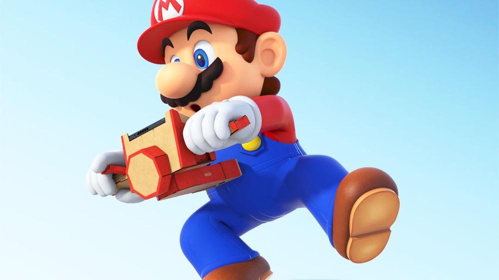 『Nintendo Labo』が他のスイッチソフトへ対応開始、『マリオカート8 デラックス』では「バイクToy-Con」がコントローラーに