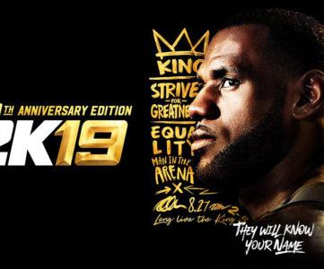 シリーズ20周年の『NBA 2K19』が国内外で正式発表、体験版の配信も計画