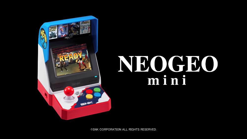 『NEOGEO mini』についてわかっている情報まとめ、収録40作品のタイトル詳細、発売日・価格、いつでもセーブ・ロードの便利機能など