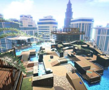 スプラトゥーン2:今後のUPDATEで追加される新ステージ「ホテルニューオートロ」