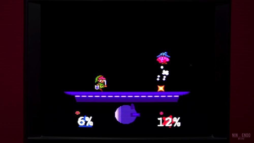 もしも『スマブラ』がスーパーファミコンで発売されていたら?を表現するデメイク映像