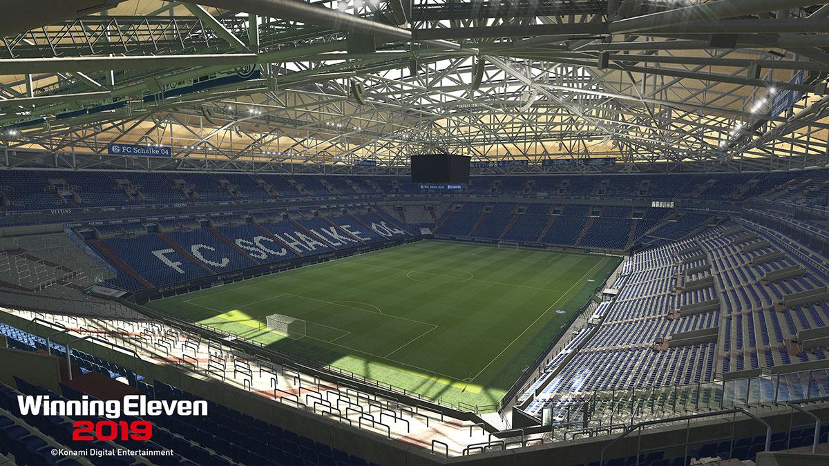 コナミ、「FCシャルケ04」とサッカーゲームのオフィシャルスポンサー契約を締結。『ウイイレ2019』に「フェルティンス・アレーナ」が独占搭載