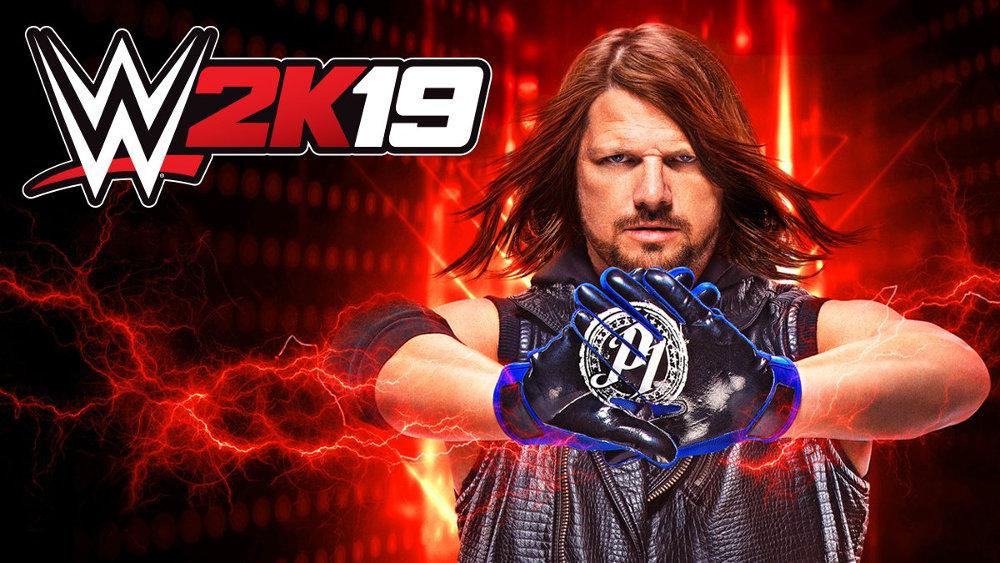 『WWE 2K19』のカバーを飾るのはAJスタイルズ、対応機種はPS4/Xbox One/PC