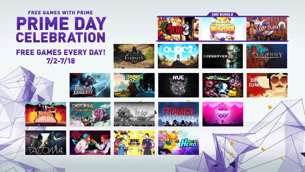 太っ腹!Twitchプライム会員向けに21本のPCゲームが無料配布