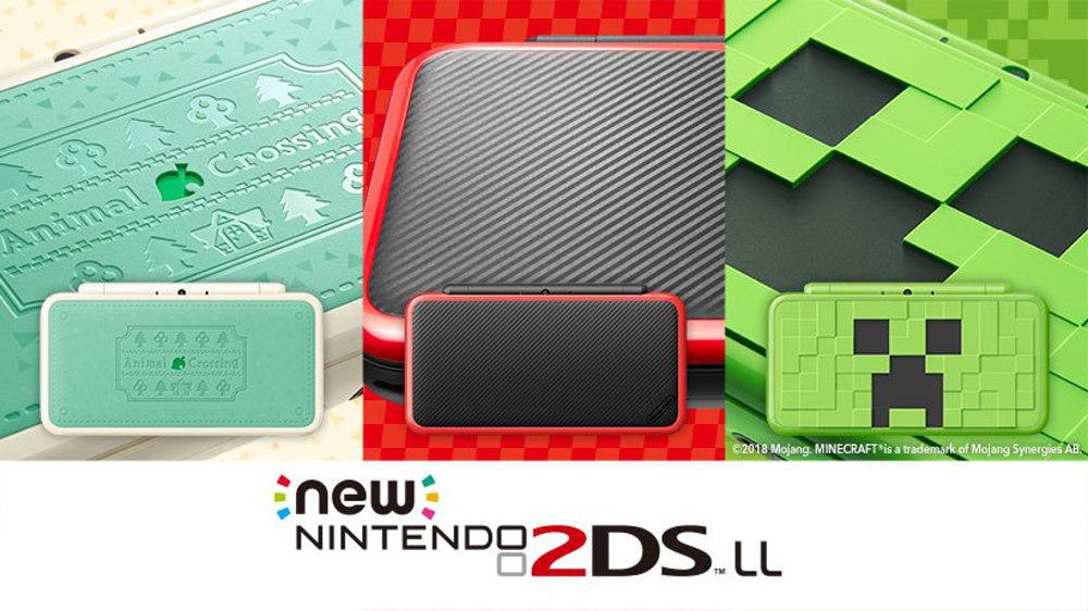『ぶつ森』『マリカ7』に『マイクラ』、特別デザインのNewニンテンドー2DS LL本体が発売