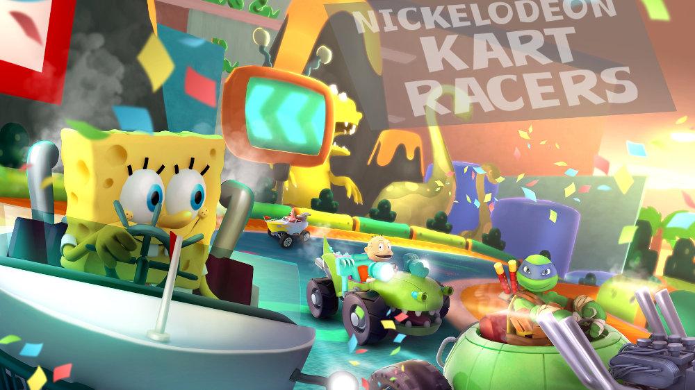 『Nickelodeon Kart Racers』、スポンジ・ボブやTMNT、ラグラッツなどニコロデオンのアニメキャラクターがカートで対決