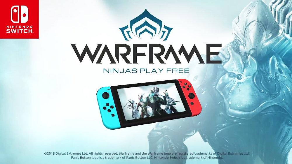 基本プレイ無料のマルチプレイTPS『Warframe』がNintendo Switchに対応、Panic Buttonが移植担当
